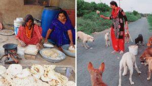 Read more about the article Inspirational Story – जशराज चारण हर दिन 25 किलो आटे की रोटियां बनाकर, भरते हैं 300 से ज़्यादा बेसहारा कुत्तों का पेट